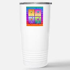 MARTINIS Pop Art Travel Mug