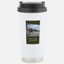 hhjj journal labyrinth  Stainless Steel Travel Mug