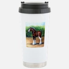 Clydesdale Draft Horse Stainless Steel Travel Mug