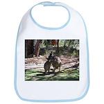 kangaroo mum tickles me Bib