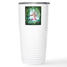 Pink Mermaid Travel Mug