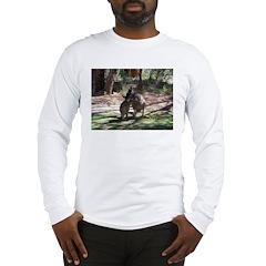 kangaroo mum tickles me Long Sleeve T-Shirt