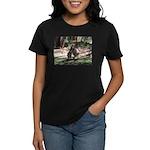 kangaroo mum tickles me Women's Dark T-Shirt