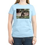 kangaroo mum tickles me Women's Light T-Shirt