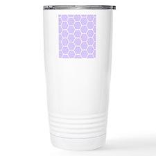 Lilac purple honeycomb Travel Mug