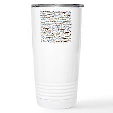 school of sharks 2f2 Travel Mug