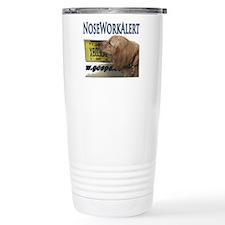 Golden Retriever Nose W Travel Mug