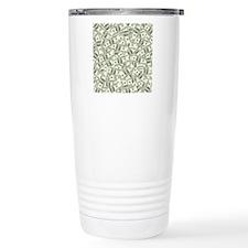 100 Dollar Bill Pattern Travel Mug