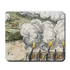 Siege cannons in the 30 Years War, Battl Mousepad