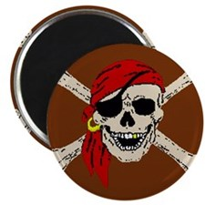 Pirate Skull Magnet