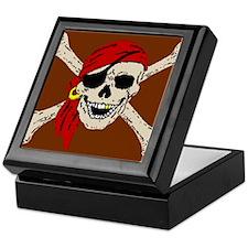 Pirate Skull Keepsake Box
