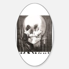 Cute View Sticker (Oval)