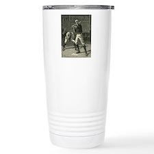 Vintage Sports Baseball Thermos Mug