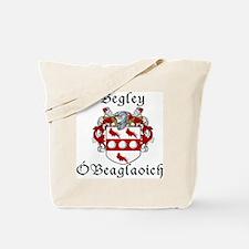 Begley in Irish/English Tote Bag