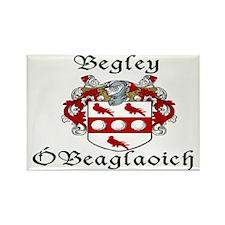 Begley in Irish/English Rectangle Magnet (10 pack)