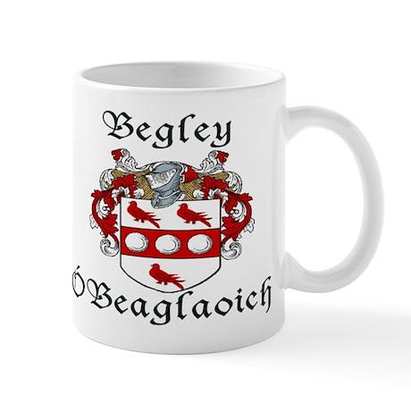 Begley in Irish/English Mug