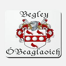 Begley in Irish/English Mousepad