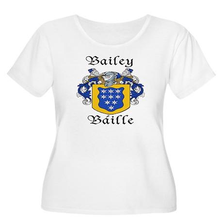 Bailey in Irish/English Women's Plus Size Scoop Ne