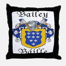 Bailey in Irish/English Throw Pillow