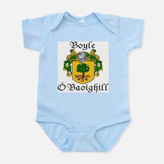 Boyle in Irish/English Infant Bodysuit
