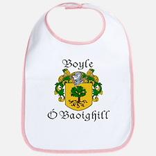 Boyle in Irish/English Bib