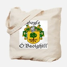 Boyle in Irish/English Tote Bag