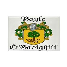 Boyle in Irish/English Rectangle Magnet (10 pack)
