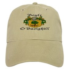 Boyle in Irish/English Baseball Cap
