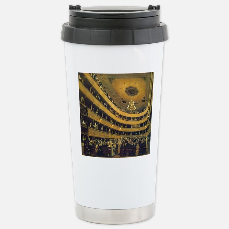 Old Burgtheater by Gust Travel Mug