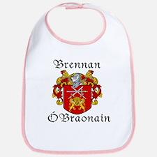 Brennan in Irish/English Bib