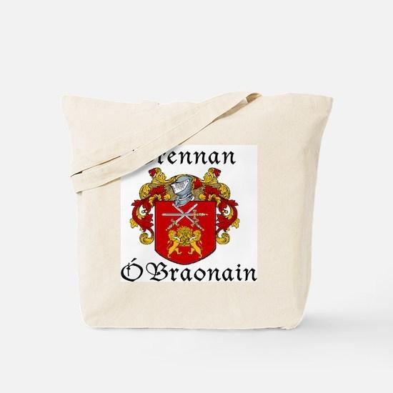 Brennan in Irish/English Tote Bag