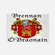 Brennan in Irish/English Rectangle Magnet (10 pack