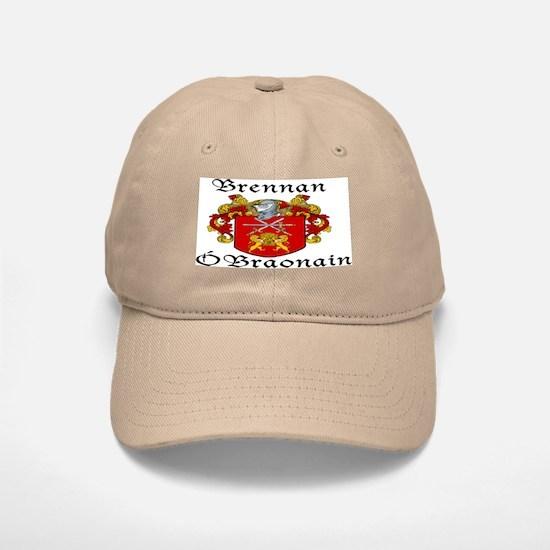 Brennan in Irish/English Baseball Baseball Cap