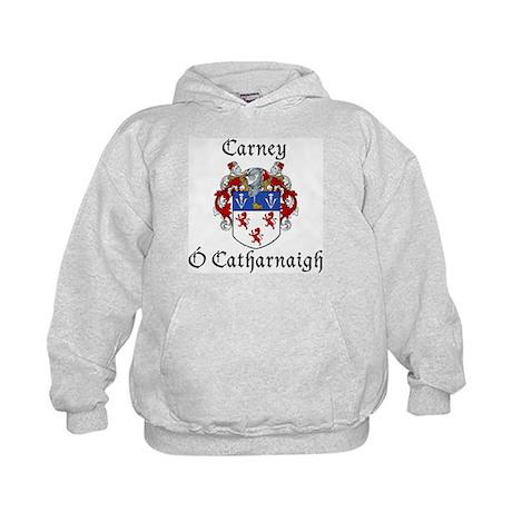 Carney Irish/English Kids Hoodie