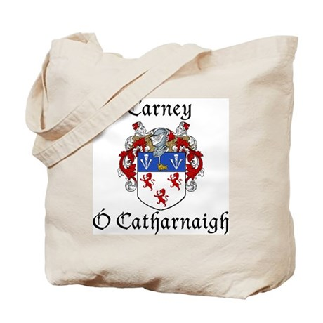 Carney Irish/English Tote Bag