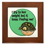 How To Lose Weight Framed Tile