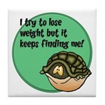 How To Lose Weight Tile Coaster
