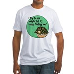 How To Lose Weight Fitted T-Shirt