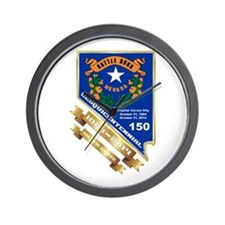 Nevada Day 1 Wall Clock