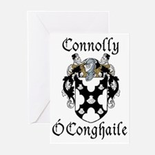 Connolly in Irish/English Greeting Cards (Pk of 10