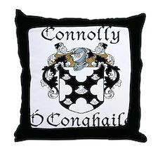 Connolly in Irish/English Throw Pillow