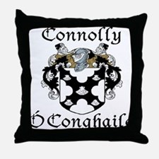 Connolly in Irish/English Throw Pillow