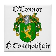 O'Connor in Irish/English Tile Coaster