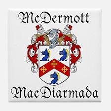 McDermott Irish/English Tile Coaster