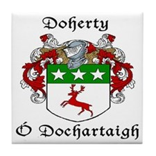 Doherty Irish/English Tile Coaster