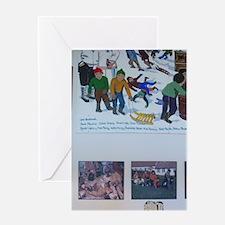 Amos Comenius Memorial School. Inuit Greeting Card