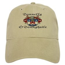 Donnelly In Irish & English Baseball Baseball Cap