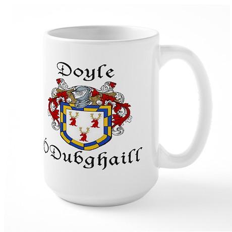 Doyle In Irish & English Large Mug