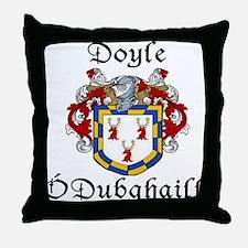Doyle In Irish & English Throw Pillow