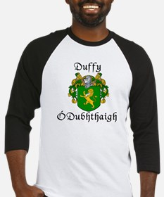 Duffy in Irish & English Baseball Jersey